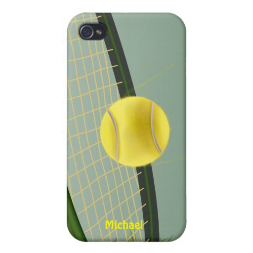 Tennis Champ iPhone 4 Case