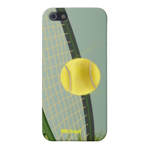 Tennis Champ iPhone 5/5S Cover
