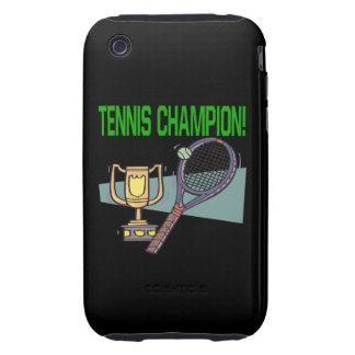 Tennis Champion iPhone 3 Tough Cover