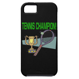 Tennis Champion iPhone 5 Covers