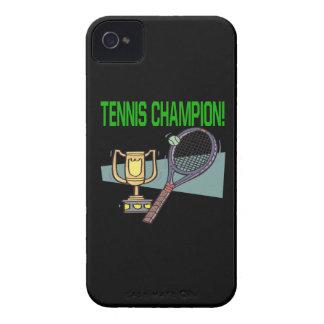Tennis Champion iPhone 4 Case-Mate Cases
