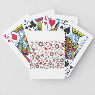 Tennis Christmas Bicycle Playing Cards