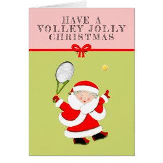Tennis Christmas cards