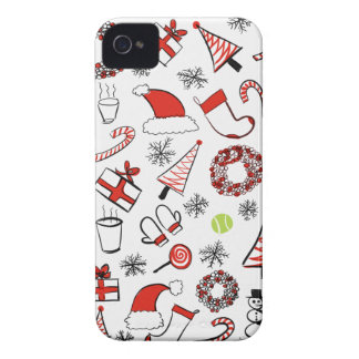Tennis Christmas iPhone 4 Cover