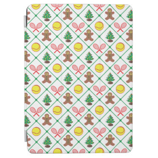 Tennis Christmas pattern iPad Air Cover