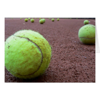 Tennis Clay Court Card