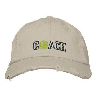 Tennis Coach Baseball Cap
