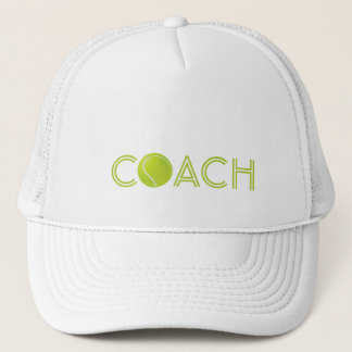 Tennis Coach hat