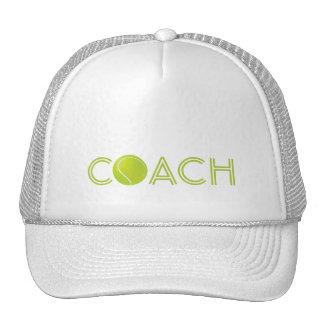 Tennis Coach hat