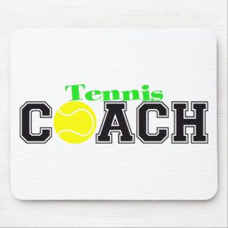 Tennis Coach Mouse Pad