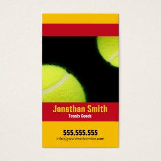 Tennis Coach - Tennis Lessons business card