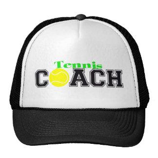 Tennis Coach Trucker Hat