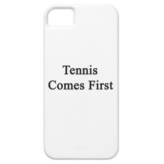 Tennis Comes First iPhone 5 Cases