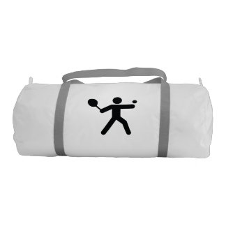 TENNIS   cool sport icon Gym Duffel Bag