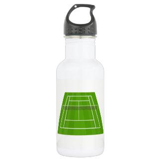 Tennis court 532 ml water bottle