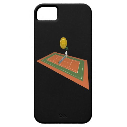 Tennis Court iPhone 5 Covers