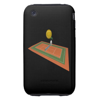 Tennis Court Tough iPhone 3 Cases