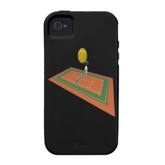 Tennis Court Case-Mate iPhone 4 Cover