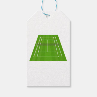Tennis Court Gift Tags