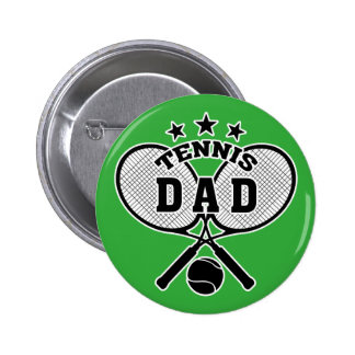 Tennis Dad 6 Cm Round Badge