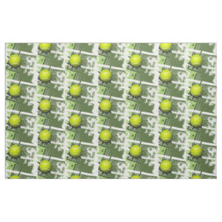 Tennis Design Fabric