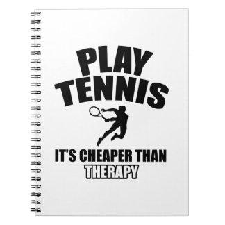 Tennis   design notebook