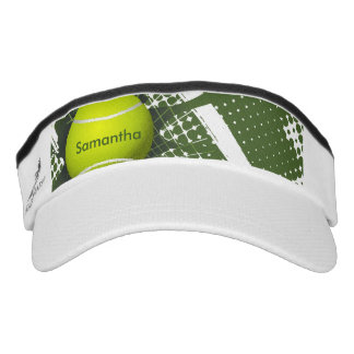 Tennis Design Sun Visor Hat