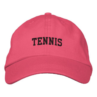 TENNIS EMBROIDERED HAT