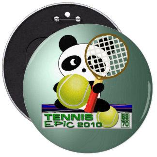 Tennis Epic 6 Cm Round Badge