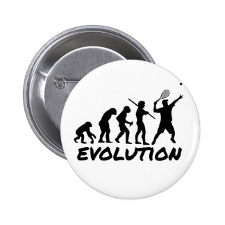 Tennis Evolution 6 Cm Round Badge