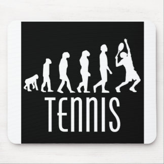 Tennis Evolution Mouse Pad