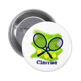 Tennis Flair Buttons
