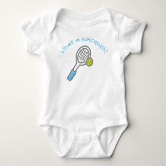 Tennis for tots baby bodysuit
