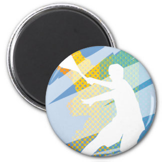 Tennis Gifts for tennis players and tennis fans 6 Cm Round Magnet