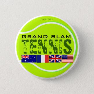 Tennis Grand Slam Button