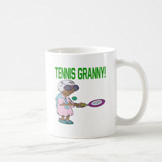 Tennis Granny Coffee Mug