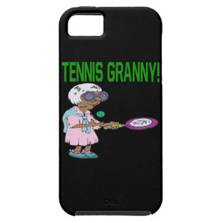 Tennis Granny iPhone 5 Cover
