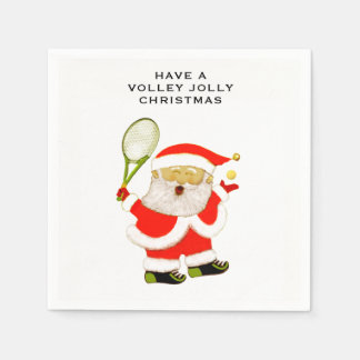tennis holiday party disposable napkin
