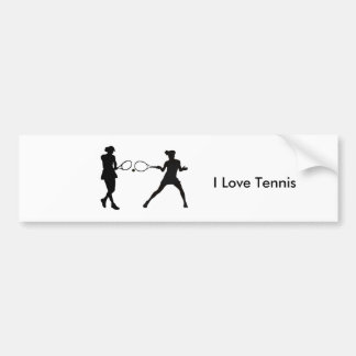 Tennis image for Bumper Sticker