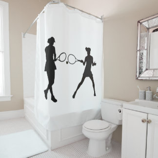 Tennis image for Shower Curtain