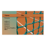 tennis instructor business card template