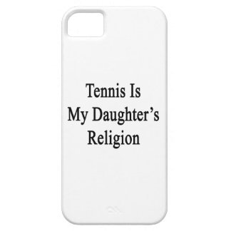 Tennis Is My Daughter s Religion iPhone 5 Cover