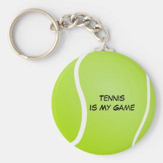 Tennis Is My Game Key Ring