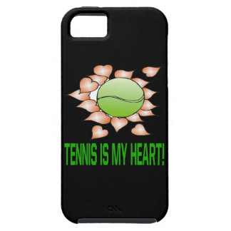 Tennis Is My Heart iPhone 5 Cases