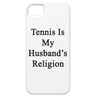 Tennis Is My Husband's Religion iPhone 5 Covers