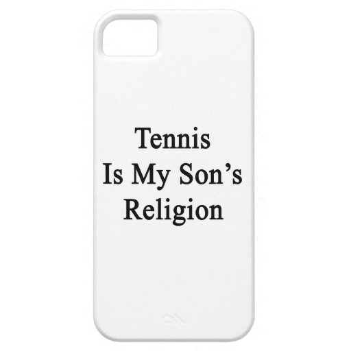 Tennis Is My Son's Religion iPhone 5 Case