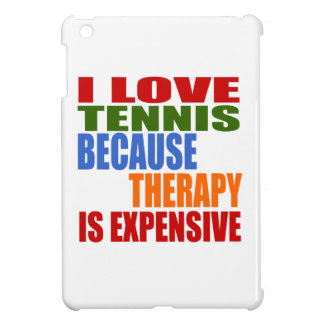Tennis Is My Therapy Cover For The iPad Mini