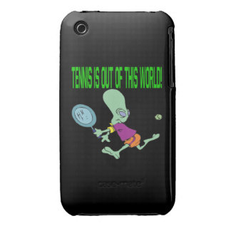 Tennis Is Out Of This World iPhone 3 Case