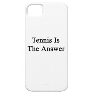 Tennis Is The Answer iPhone 5 Case