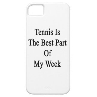 Tennis Is The Best Part Of My Week iPhone 5 Cover